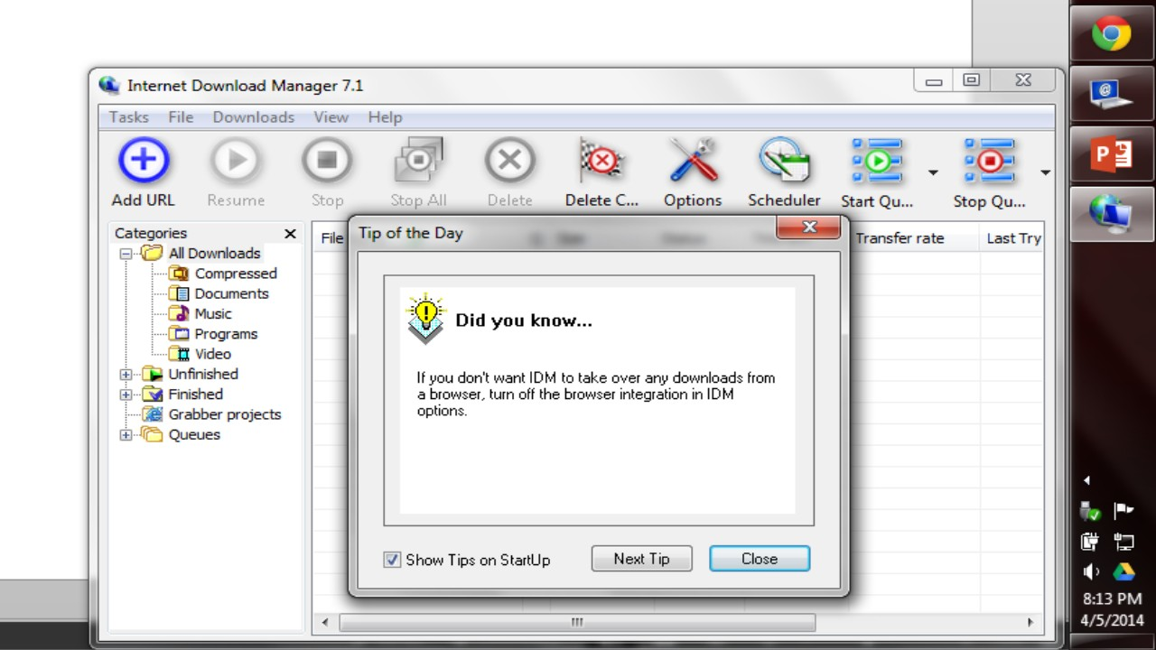 free download idm 7.1 2013 cracked version lifetime