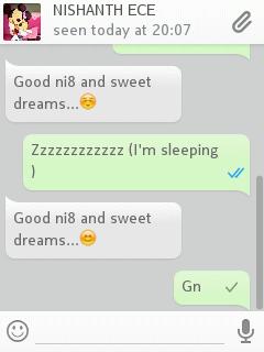Screenshot Feature Of Whatsapp In Nokia Phones No
