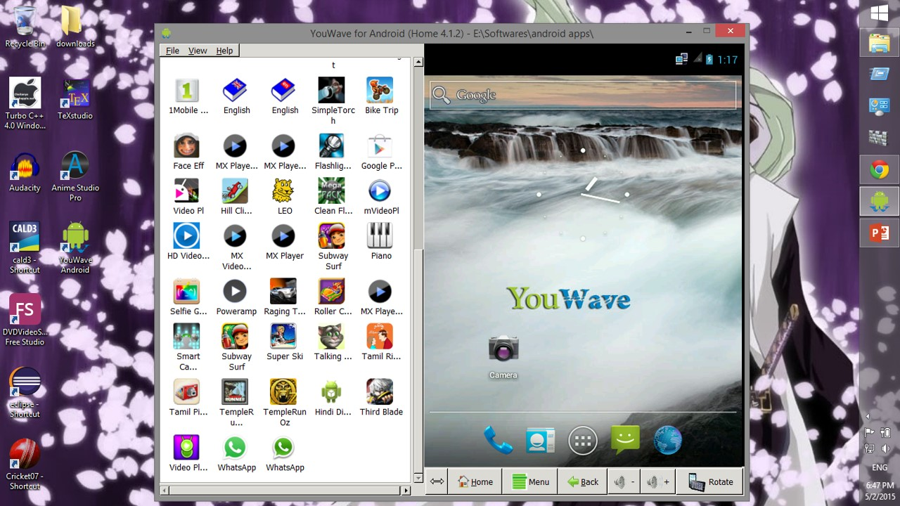youwave android home