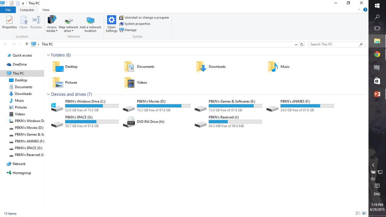 Windows explorer in WINDOWS 10 !!! – whysurfswim