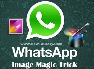 Whatsapp image change trick