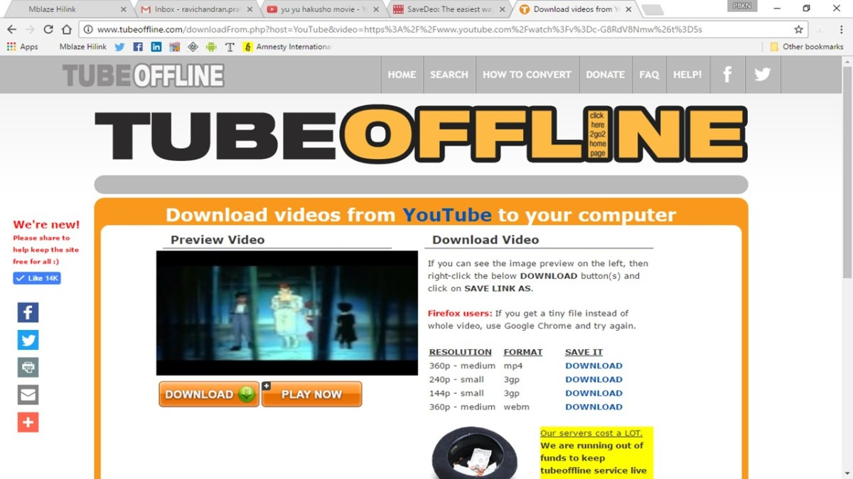 how to download copyrighted video