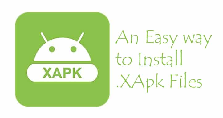 how to install xapk file on mobile
