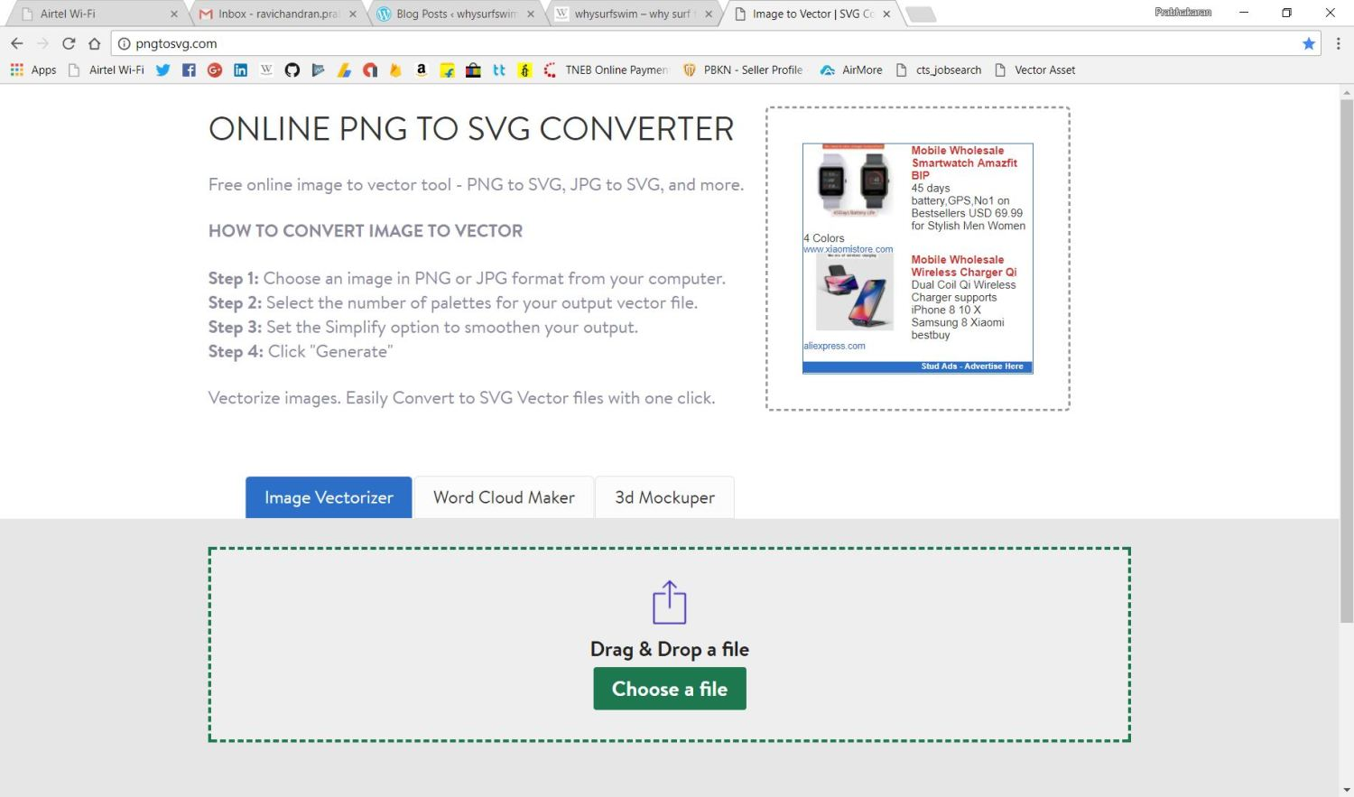 Convert Jpgpng To Svg Why Surf Swim