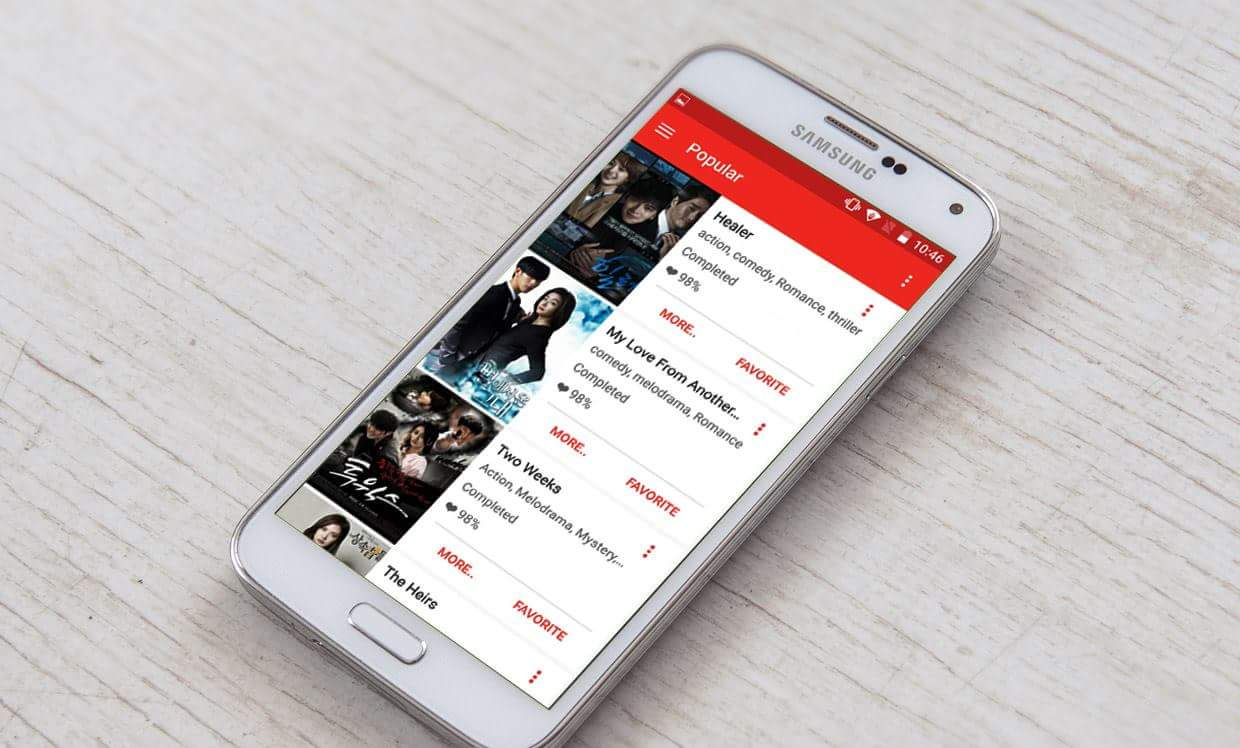 kdrama apps for android